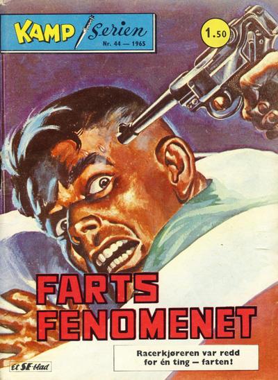 Cover for Kamp-serien (Serieforlaget / Se-Bladene / Stabenfeldt, 1964 series) #44/1965