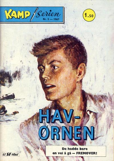 Cover for Kamp-serien (Serieforlaget / Se-Bladene / Stabenfeldt, 1964 series) #3/1967