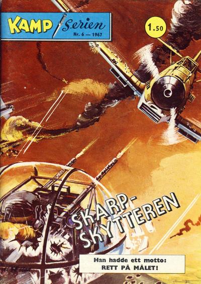Cover for Kamp-serien (Serieforlaget / Se-Bladene / Stabenfeldt, 1964 series) #6/1967