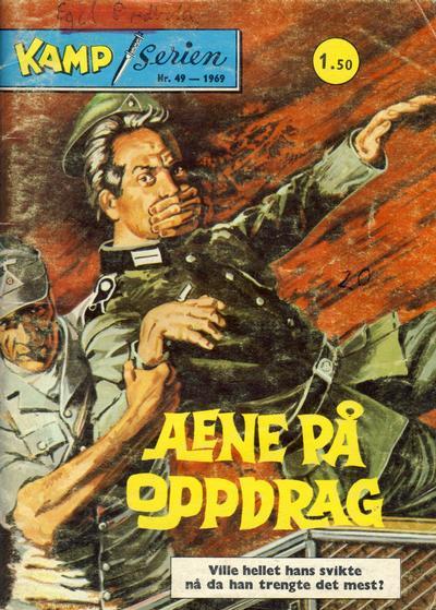 Cover for Kamp-serien (Serieforlaget / Se-Bladene / Stabenfeldt, 1964 series) #49/1969