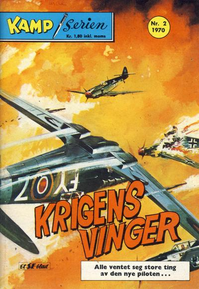 Cover for Kamp-serien (Serieforlaget / Se-Bladene / Stabenfeldt, 1964 series) #2/1970