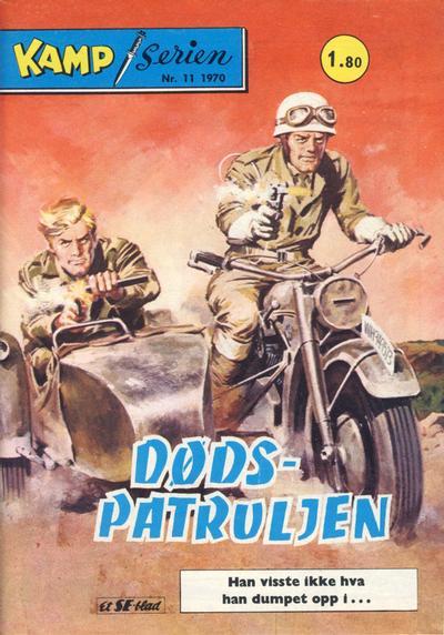 Cover for Kamp-serien (Serieforlaget / Se-Bladene / Stabenfeldt, 1964 series) #11/1970