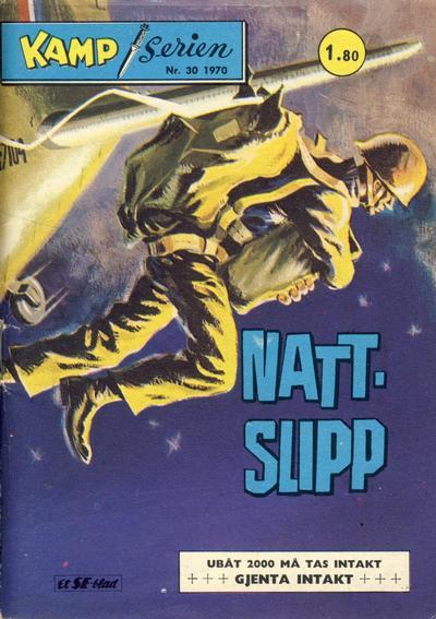 Cover for Kamp-serien (Serieforlaget / Se-Bladene / Stabenfeldt, 1964 series) #30/1970