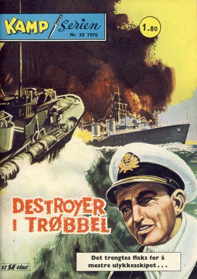 Cover for Kamp-serien (Serieforlaget / Se-Bladene / Stabenfeldt, 1964 series) #33/1970