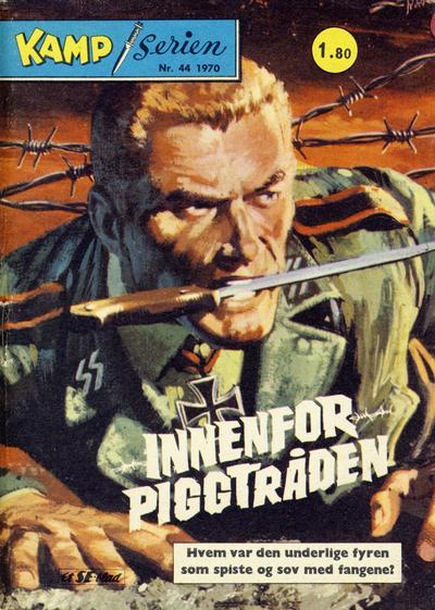 Cover for Kamp-serien (Serieforlaget / Se-Bladene / Stabenfeldt, 1964 series) #44/1970