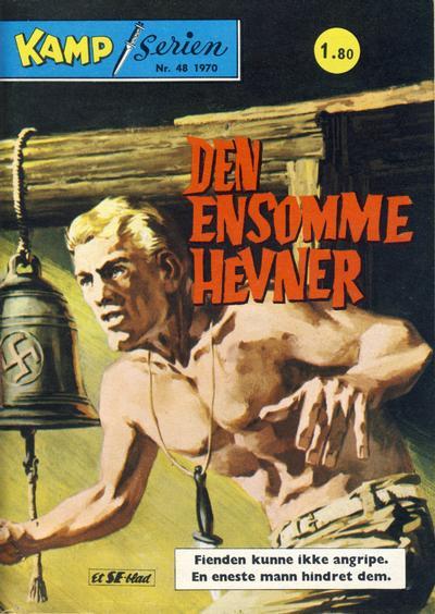Cover for Kamp-serien (Serieforlaget / Se-Bladene / Stabenfeldt, 1964 series) #48/1970