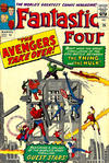 Cover for Fantastic Four (Marvel, 1961 series) #26 [British Price Variant]