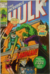 Cover for The Incredible Hulk (Marvel, 1968 series) #138 [British Price Variant]