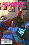 Cover Thumbnail for Ms. Marvel (2016 series) #1 [Incentive Sara Pichelli Variant]