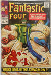 Cover for Fantastic Four (Marvel, 1961 series) #61 [British Price Variant]