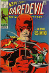 Cover Thumbnail for Daredevil (1964 series) #53 [British Price Variant]