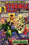 Cover for Strange Tales (Marvel, 1973 series) #184 [British]