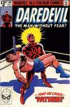 Cover for Daredevil (Marvel, 1964 series) #164 [British Price Variant]
