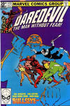 Cover Thumbnail for Daredevil (1964 series) #172 [British Price Variant]