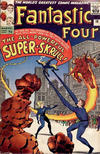 Cover for Fantastic Four (Marvel, 1961 series) #18 [British Price Variant]