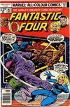 Cover for Fantastic Four (Marvel, 1961 series) #182 [British Price Variant]