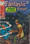 Cover for Fantastic Four (Marvel, 1961 series) #90 [British Price Variant]
