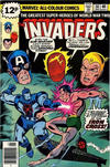 Cover for The Invaders (Marvel, 1975 series) #36 [British Price Variant]