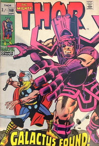 Cover Thumbnail for Thor (Marvel, 1966 series) #168 [British]