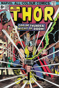 Cover Thumbnail for Thor (Marvel, 1966 series) #229 [British]