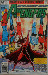 Cover Thumbnail for The Avengers (Marvel, 1963 series) #187 [British]