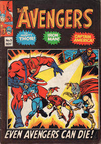 Cover Thumbnail for Avengers (Yaffa / Page, 1978 ? series) #5
