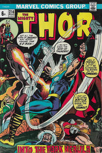 Cover Thumbnail for Thor (Marvel, 1966 series) #214 [British]