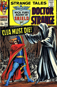 Cover Thumbnail for Strange Tales (Marvel, 1951 series) #154 [British]