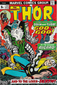 Cover Thumbnail for Thor (Marvel, 1966 series) #217 [British]