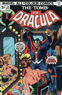 Cover Thumbnail for Tomb of Dracula (Marvel, 1972 series) #24 [British]