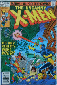 Cover Thumbnail for The X-Men (Marvel, 1963 series) #128 [British]