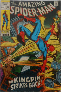 Cover for The Amazing Spider-Man (Marvel, 1963 series) #84 [Regular Edition]