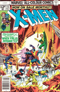 Cover for The X-Men (Marvel, 1963 series) #113