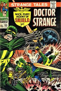 Cover Thumbnail for Strange Tales (Marvel, 1951 series) #155 [British]