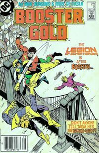 Cover Thumbnail for Booster Gold (DC, 1986 series) #8 [Newsstand]