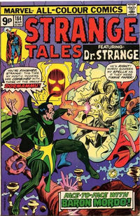 Cover Thumbnail for Strange Tales (Marvel, 1973 series) #184 [British Price Variant]