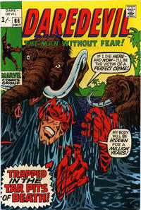 Cover Thumbnail for Daredevil (Marvel, 1964 series) #66 [British]