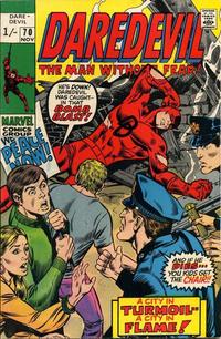 Cover Thumbnail for Daredevil (Marvel, 1964 series) #70 [British]