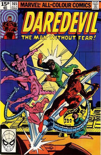 Cover for Daredevil (Marvel, 1964 series) #165 [Direct Edition]