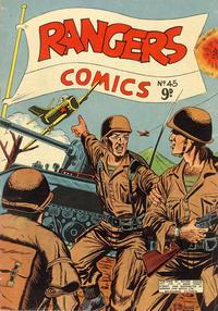 Cover Thumbnail for Rangers Comics (H. John Edwards, 1950 ? series) #45