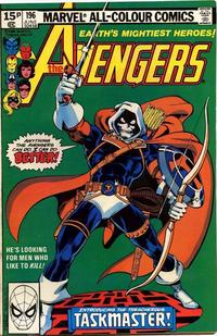 Cover Thumbnail for The Avengers (Marvel, 1963 series) #196 [British]