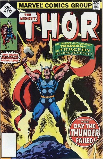 Cover for Thor (Marvel, 1966 series) #272 [Regular Edition]
