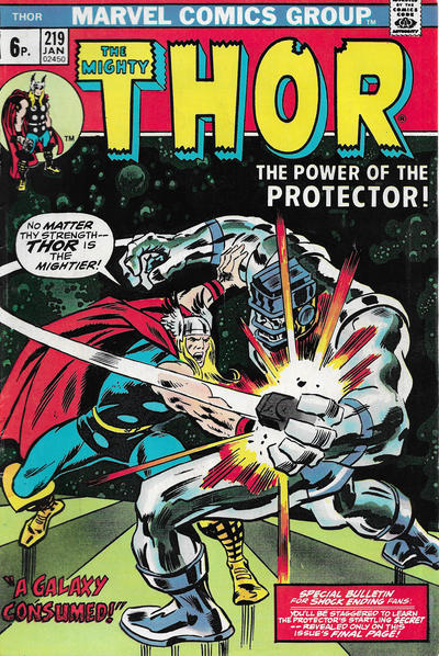 Cover for Thor (Marvel, 1966 series) #219 [Regular Edition]