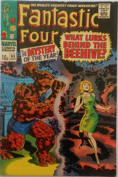 Cover for Fantastic Four (Marvel, 1961 series) #66 [Regular Edition]