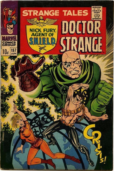 Cover for Strange Tales (Marvel, 1951 series) #157 [Regular Edition]