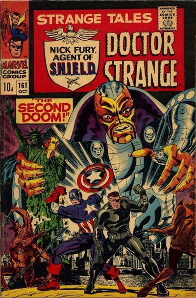 Cover for Strange Tales (Marvel, 1951 series) #161 [Regular Edition]