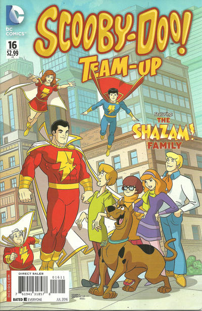 Cover for Scooby-Doo Team-Up (DC, 2014 series) #16 [Direct Sales]