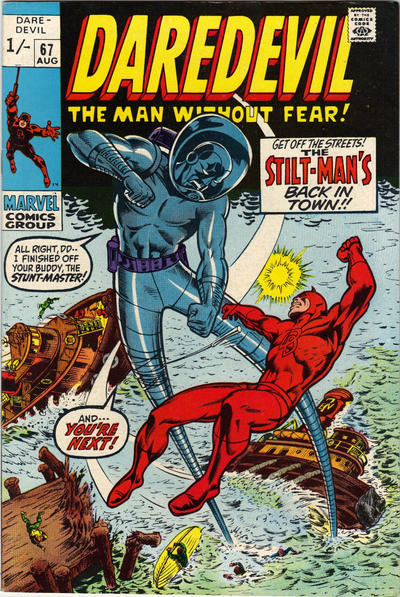 Cover for Daredevil (Marvel, 1964 series) #67 [Regular Edition]