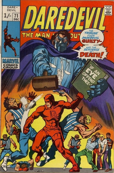 Cover for Daredevil (Marvel, 1964 series) #71 [Regular Edition]
