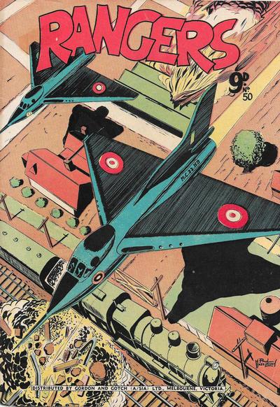 Cover for Rangers Comics (H. John Edwards, 1950 ? series) #50